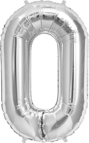 """34"""" Foil Balloon Deco Link - Silver"""