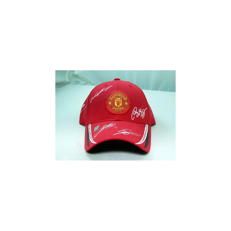 FC MANCHESTER UNITED OFFICIAL TEAM LOGO CAP / HAT   MU002