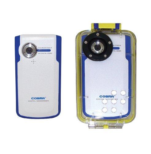 Cobra Digital Dvc8680Uw Flash Memory Camcorder With 2-Inch Lcd And Waterproof Dvc8680Uw