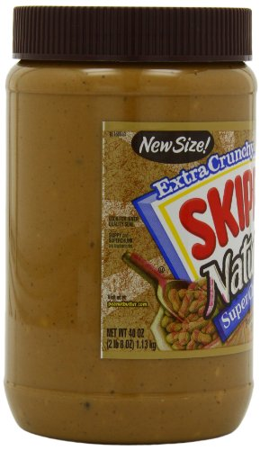 Skippy Peanut Butter, Extra Crunchy and Super Chunk, 40 Ounce