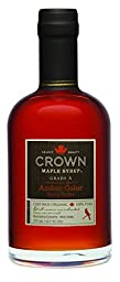 Crown Maple Syrup, Rich Amber, 12.7 Fluid Ounce