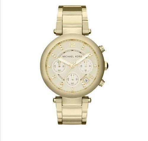 Michael Kors Women'S 'Parker' Gold Tone Bracelet Watch - Mk5701