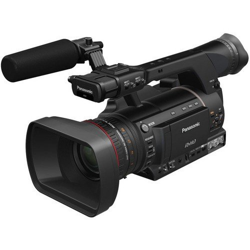 Panasonic AG-HPX250 2.2MP P2 HD Hand-Held Camcorder, 22x Optical Zoom, 3.45