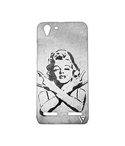 Vogueshell Girl Rocks Printed Symmetry PRO Series Hard Back Case for Lenovo K5 Plus