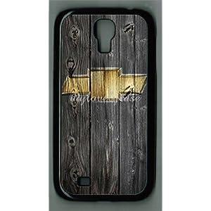 S4 I9500 case Camaro car logo with wood background Samsung Galaxy S4