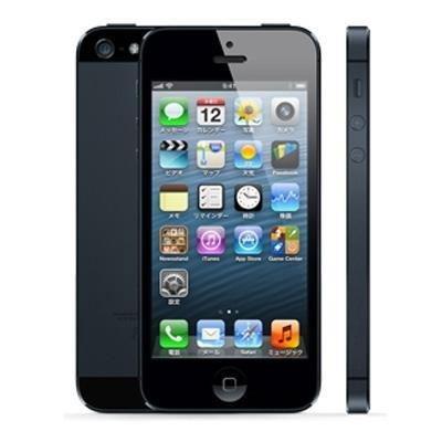 Apple iPhone5 LTE 32GB - GSM A1429 MD658LL/A ブラック 海外版 SIMフリー