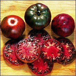 Hinterland Trading Black Krim Tomato 30 Seeds - Russian Heirloom