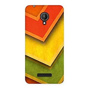 Design Of ColorMerge Back Case Cover for Micromax Canvas Spark Q380