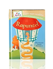 First Readers Rapunzel Story Book