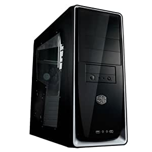 Cooler Master Elite 310 ATX, MATX Mid Tower Case with Window RC-310-SWN1-GP (Black/Silver)