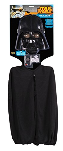 Boys Darth Vader Accessory Kit Kids Child Fancy Dress Party Halloween Costume
