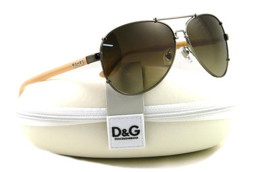 AUTHENTIC DOLCE&GABBANA D&G SUNGLASSES DD 6047 BEIGE 319/13