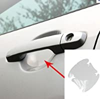 4 Universal Clear Side Door Handles Paint Scratches Protective Film Vinyl from iJDMTOY Auto Accessories