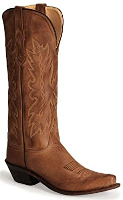 Old West Ladies Distressed Leather Cowgirl Boot Snip Toe by Old West