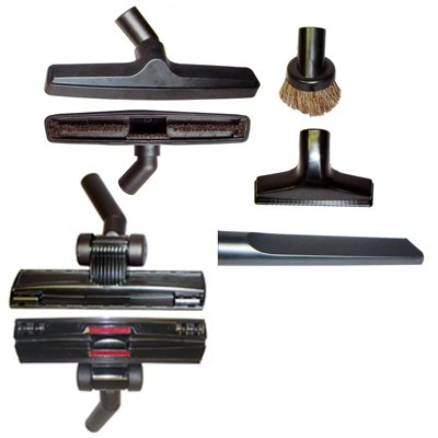 5 Piece Universal Vacuum Attachment Tool Accessory Kit - Fits Any Brand That Use 1 1/4