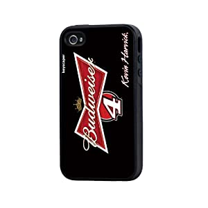 NASCAR Kevin Harvick 4 Budweiser iPhone 4 4S Rugged Case by Keyscaper