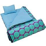 Wildkin Big Dot Aqua Sleeping Bag