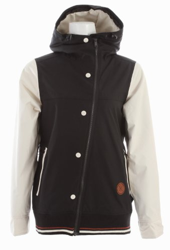 Holden Rydell Ski Snowboard Jacket Black/Bone Womens Sz M