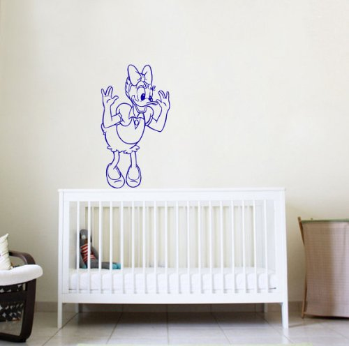 Housewares Wall Vinyl Decal Cartoon Duck Nursery Room Art Decor Removable Stylish Sticker Mural Unique Design For Any Room 157 front-1004842