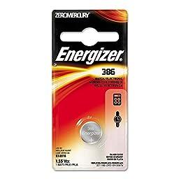 Energizer 386BPZ Zero Mercury Battery - 1 Pack