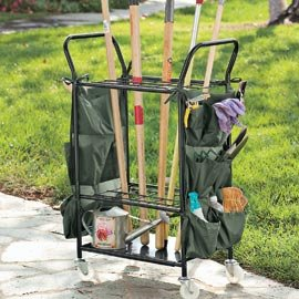 Garden tool cart patio lawn garden for Gardening tools on amazon
