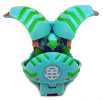 Bakugan Single LOOSE Figure Zephyroz FALCONEER Green - 450G - 1