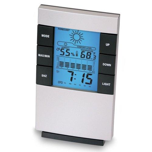 Wendy 6 Multi-function Desktop Temperature Humidity Weather Station Alarm Clock