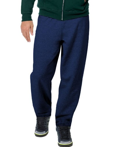 hanes-comfortblend-fleece-pant-p650-navy-x-large