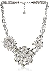 "Carolee LUX ""Haute Hollywood"" Floral Drama Necklace, 22"""