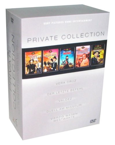 Western Box Private Collection 5 MGM Klassiker [5 DVDs]