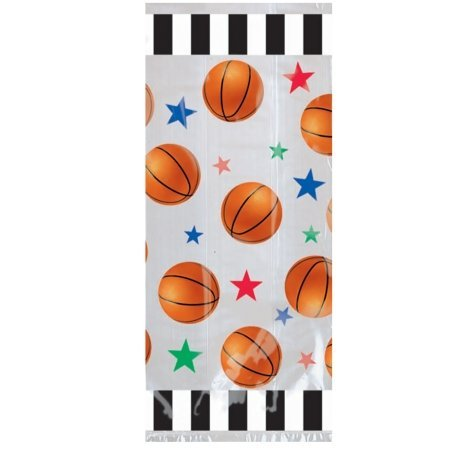 Amscan 204755 Basketball Treat Bags