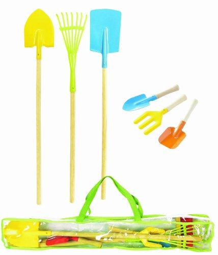 House of toys 461972 giochi all 39 aperto borsa attrezzi - Attrezzi da giardino per bambini ...