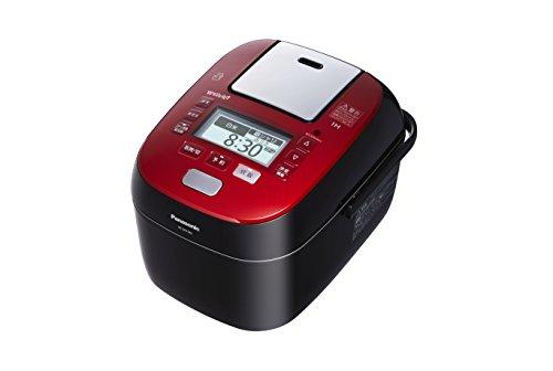 パナソニック 1升 炊飯器 圧力IH式 Wおどり炊き ルージュブラック SR-SPX185-RK