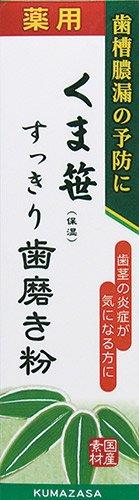 三和通商 くま笹すっきり歯磨き粉 120g