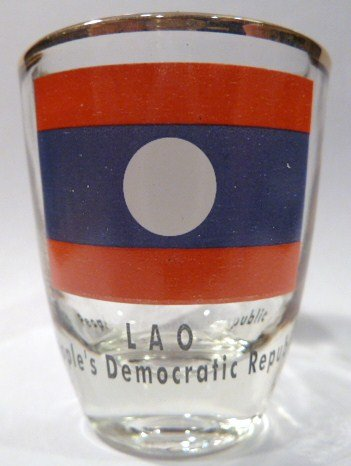 Laos Shot Glass