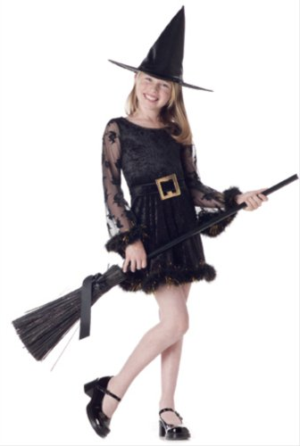 California Costume Adorable Witch for Children