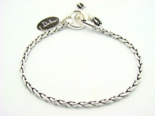 Davinci Charm Bead Bracelet - Toggle Length: 7.75 In front-180369