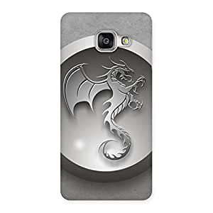 Ajay Enterprises Wow Printed Dragon Back Case Cover for Galaxy A3 2016