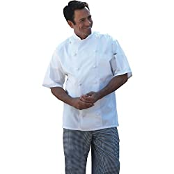 Uncommon Threads Short Sleeve Master Chef Coat