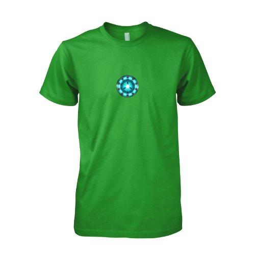 Iron Man   Arc Reactor   Herren T Shirt Bekleidung
