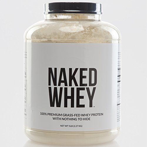 Naked Whey - 100% Grass-Fed Whey Protein Powder - 5Lb Bulk