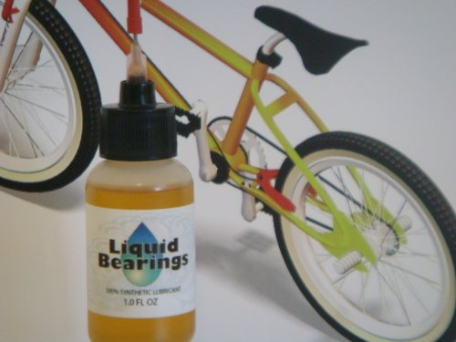 Liquid Bearings 100%-synthetic Oil for Abici Bicycles, Provides Superior Lubrication and Also Prevents Rust!!