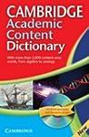 Cambridge Academic Content Dictionary...