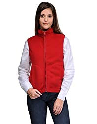Aspasia Women Polyester Jacket (AJ003_L_Multi-color_Multi-color_Large)