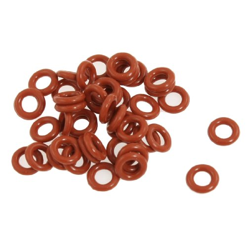 how do i amico 50 pcs silicone o ring seal washers 8mm x 4mm x 2mm red w190xww. Black Bedroom Furniture Sets. Home Design Ideas