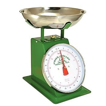 John Deere 22LB Vintage Metal Green Produce Scale