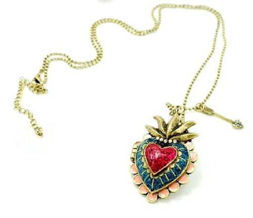 Mi Corazon Sparkly Heart Locket