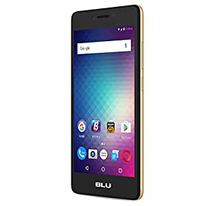 BLU Studio G HD LTE -SIM-Free Smartphone - 8GB +1GB RAM -Gold