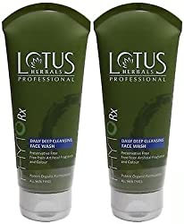 Lotus Herbals Professional Daily Deep Face Cleasing Wash 80+80 g