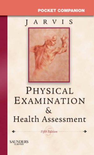 Pocket Companion for Physical Examination & Health Assessment, Carolyn Jarvis PhD  APN  CNP